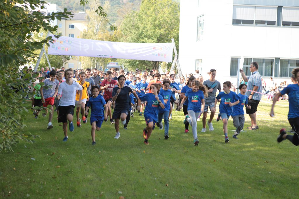 Start des Walkathons