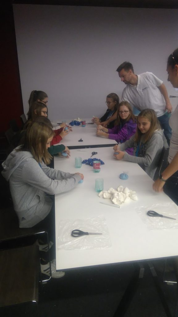Workshop zum Thema Plastik