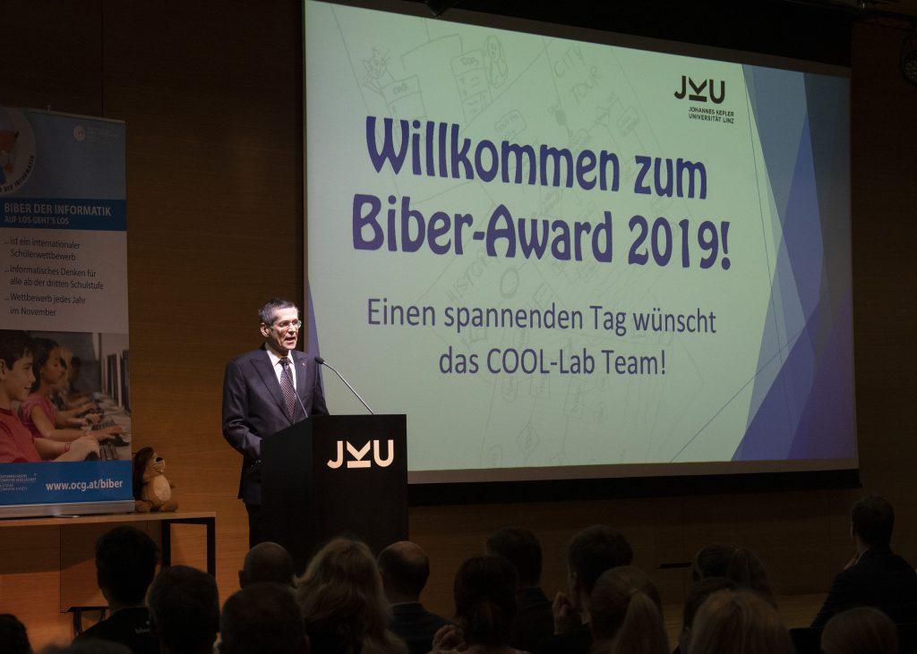 DI Wilfried Seyruck, Präsident der OCG